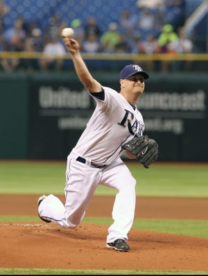 Rays starter Alex Cobb gave up just two hits and one run, striking out seven en route to his 11th win of the season.