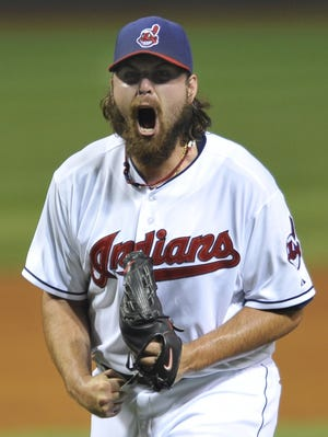 Indians closer Chris Perez, shown July 26, was unhappy with former manager Manny Acta's passive approach.