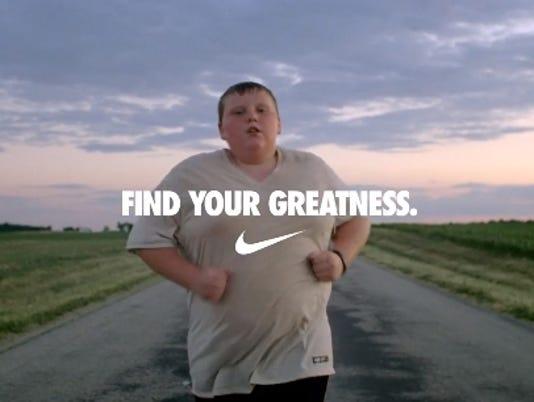 nike obesity ad