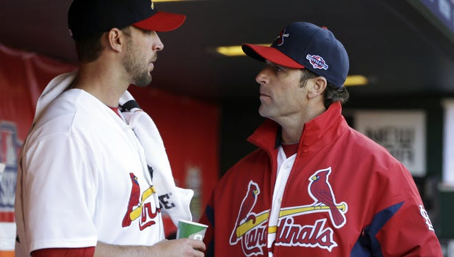 Mike Matheny and the Cardinals are down 1-0 in their Division Series against the Nationals.