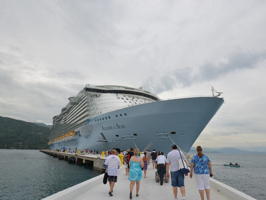 royal caribbean allure passengers
