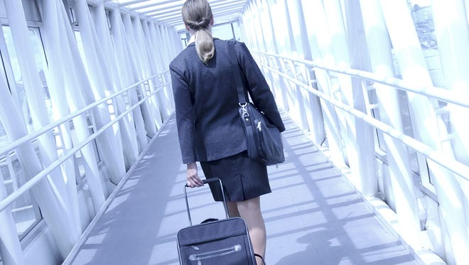 Walk a few steps in a flight attendant's shoes and appreciate the frustrations of the travel process from another perspective.