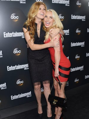 Connie Britton and Hayden Panettiere play rivals in ABC's 'Nashville.'