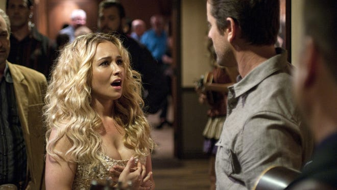 Hayden Panettiere plays up-and-comer Juliette and  Charles Esten is Deacon, one of Rayna Jaymes' (Connie Britton) former romantic and musical partners.