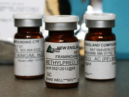 Steroid vials