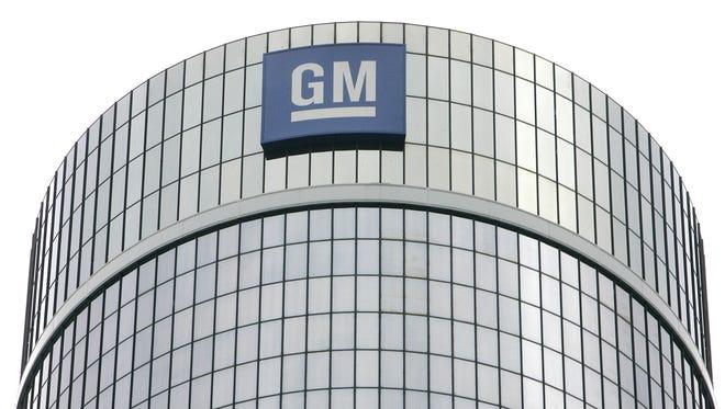 General Motors Corp. headquarters in Detroit.