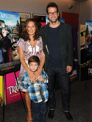 Mariska Hargitay and Peter Hermann attend the 'Hotel Transylvania' New York premiere at Lighthouse International Theater in September.
