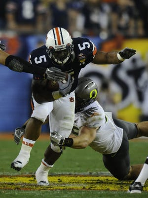Michael Dyer starred for Auburn in the 2011 BCS Championship Game.