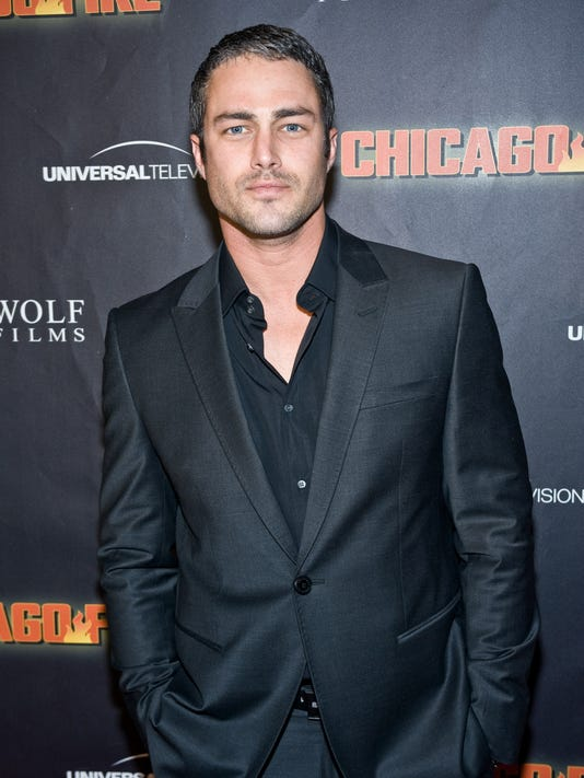 Actor Taylor Kinney Heats Up Chicago Fire