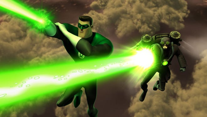 """Hal Jordan teams up with the mysterious Steam Lantern in this weekend's new episode of """"Green Lantern: The Animated Series."""""""