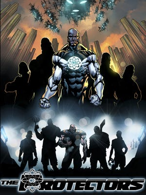 "Football player Israel Idonije makes his big splash into comics with ""The Protectors."""