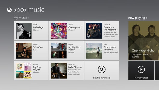 Xbox Music launches this week.