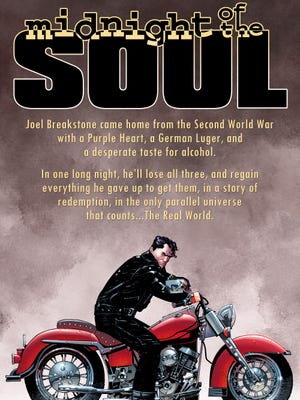 """A World War II veteran loses everything before he has a chance at redemption in Howard Chaykin's """"Midnight of the Soul."""""""