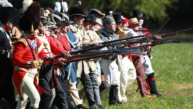 Mississinewa 1812 is the largest living history museum in the USA.
