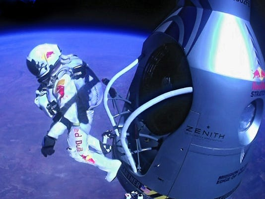 skydive space