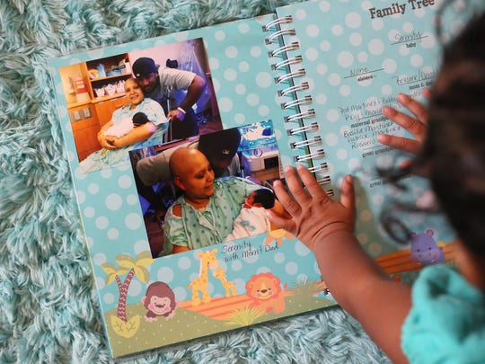 parent cancer scrapbook