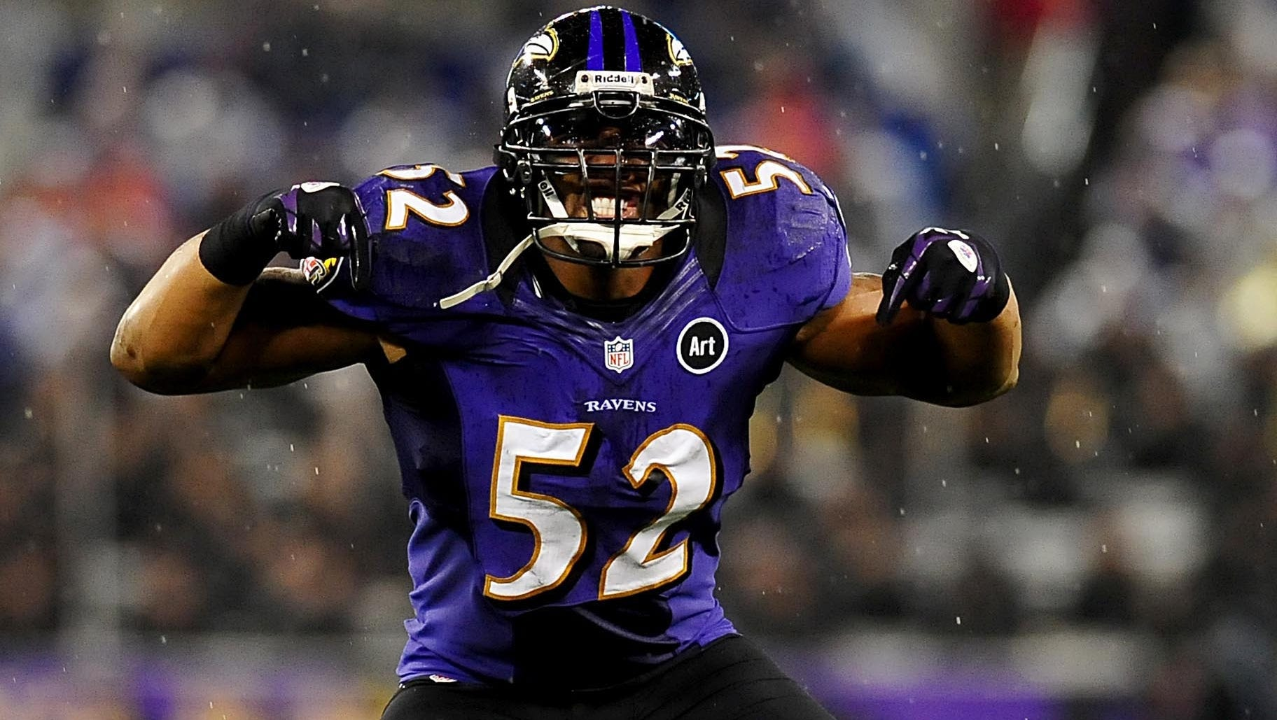 Ravens linebacker Ray Lewis lost for the season