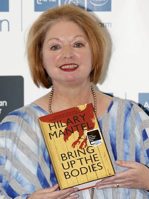 British author Hilary Mantel has won the 2012 Man Booker literary prize for her novel 'Bring Up The Bodies.'