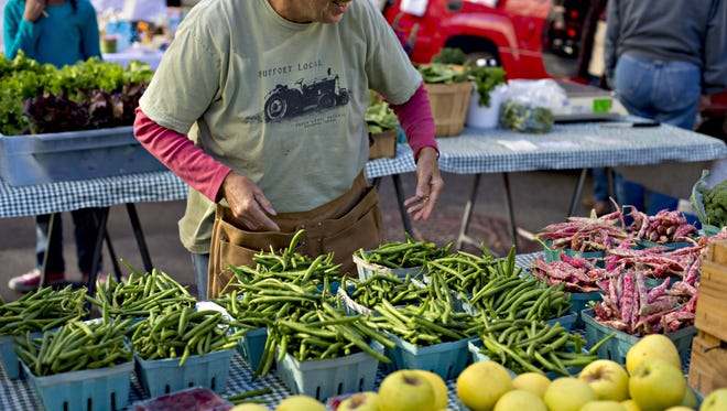 "Food Day on Oct. 24 is a national celebration to ""eat real."" One way to celebrate is by shopping at a farmers market."