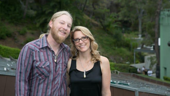 Derek Trucks and Susan Tedeschi.