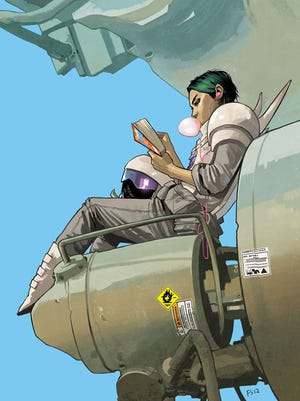 The first collection of Brian K. Vaughan's 'Saga' introduces readers to his sci-fi world that is both personal and political.