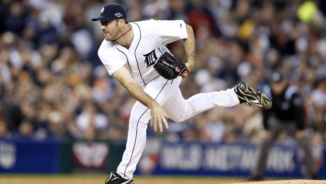 Tigers' Justin Verlander allowed just three hits over 8 1/3 innings to win Game 3 of the ALCS.