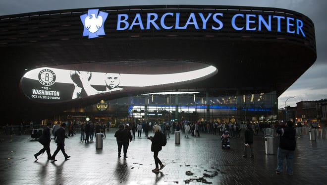 Brooklyn's new $1 billion  Barclays Center will host the NBA's Nets, championship  boxing cards and concerts among many other events.