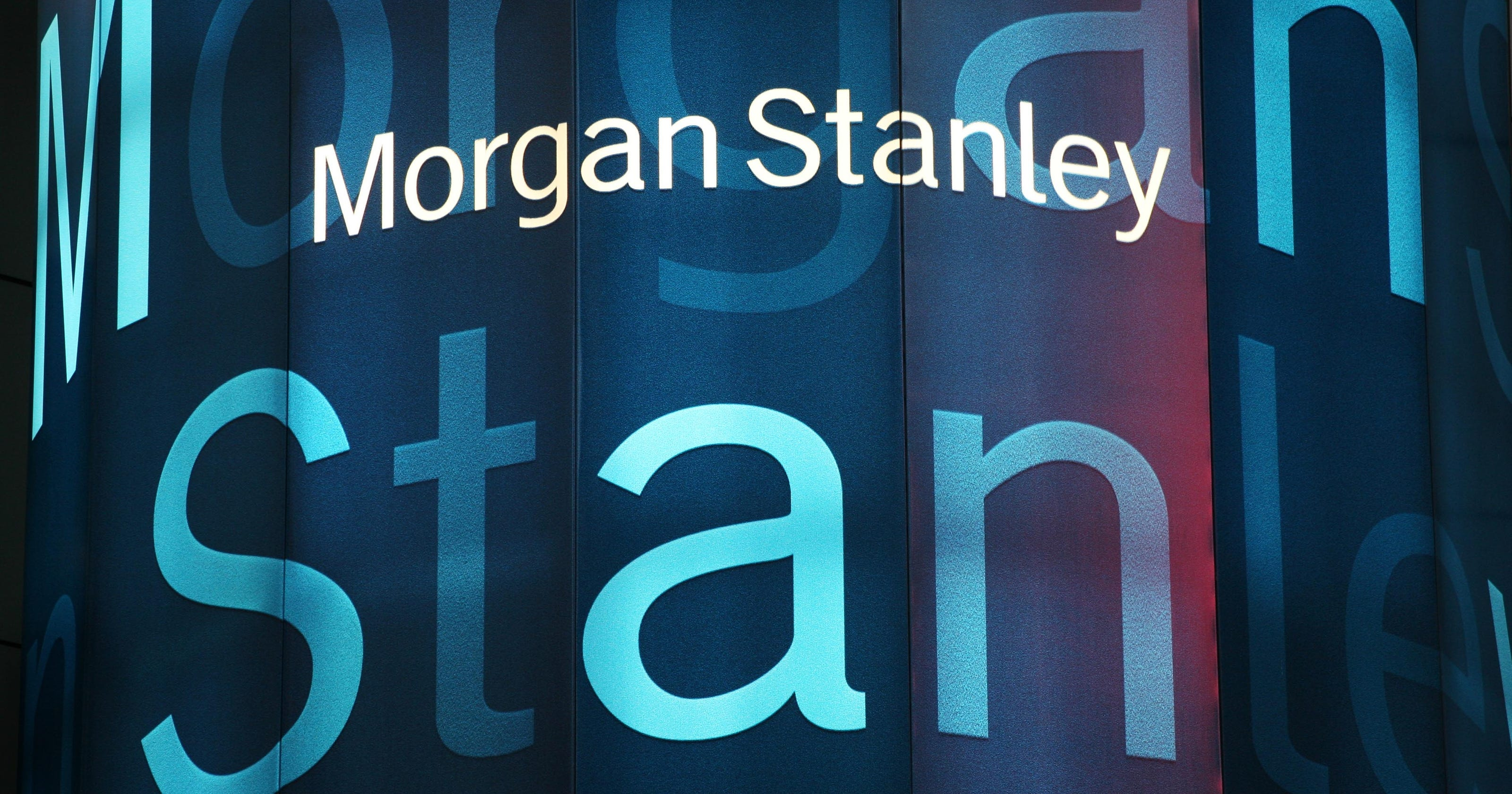 Morgan Stanley Shares Rise On Higher Earnings