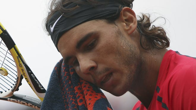 Rafael Nadal, who hasn't played since Wimbledon, hopes to return before the Australian Open.