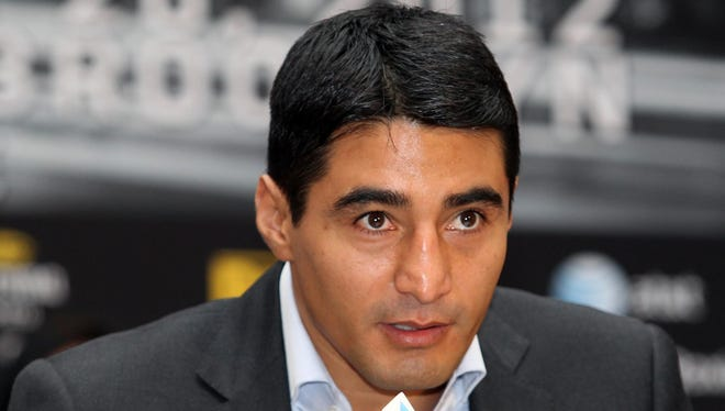Erik Morales tested positive on Tuesday for an anabolic steroid. It's believed he will be able to fight Danny Garcia on Saturday in Brooklyn.