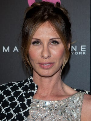 Carole Radziwill arrives to Us Weekly's 25 Most Stylish New Yorkers Event. She's writing a book targeted to widows.