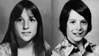 A composite photo of child victims abducted and slain in Mich. between 1976 and 1977.