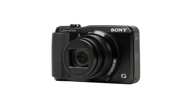 The Sony Cyber-shot HX30V.