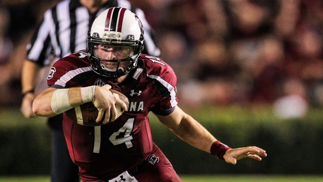 South Carolina and quarterback Connor Shaw headline a full day of college football on TV.