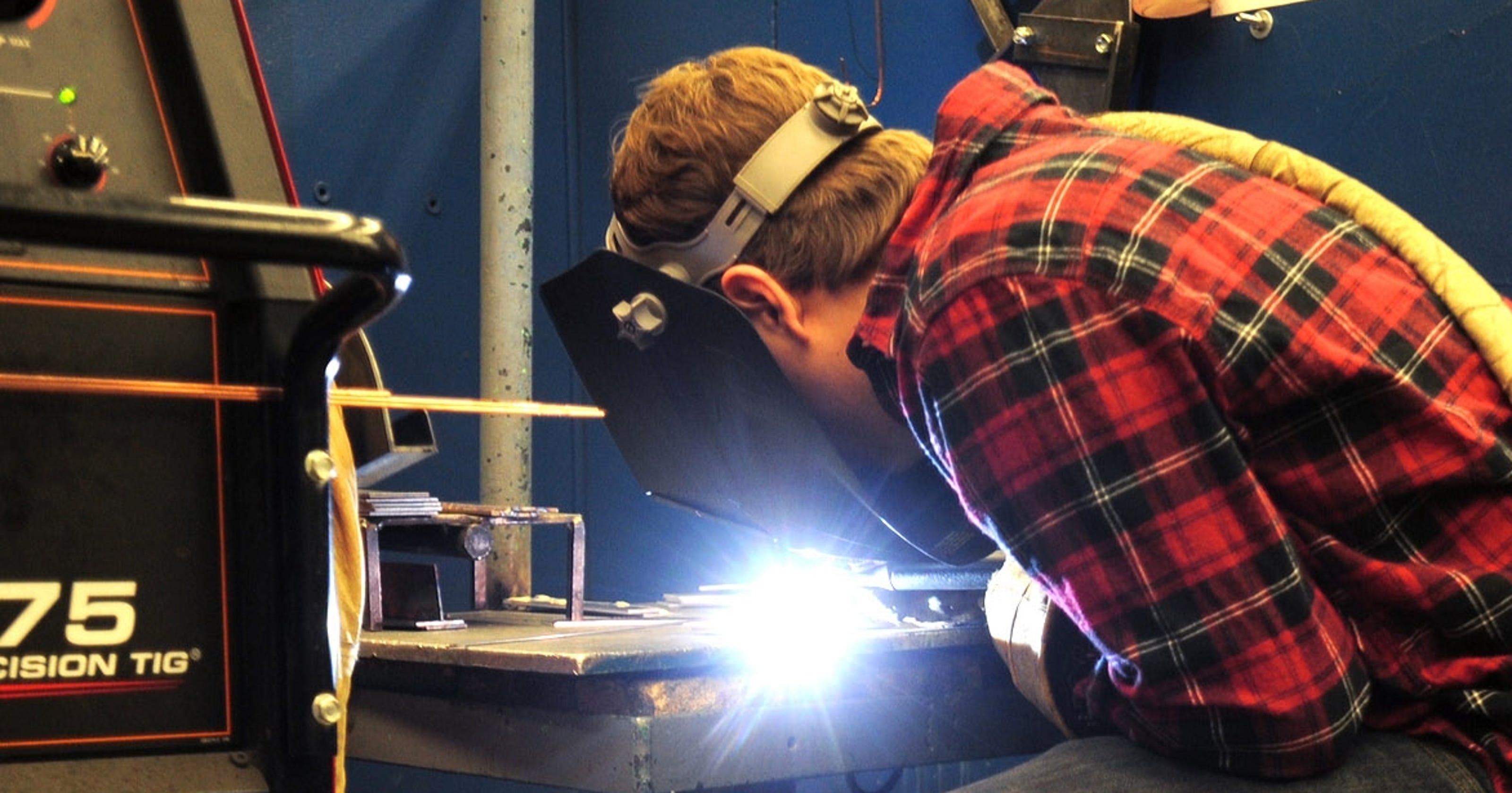 shortage of welders sparks interest in training