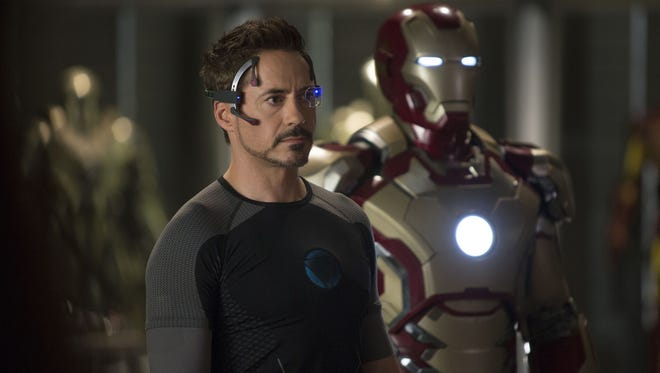 """Robert Downey Jr. dons his latest high-tech armored for a new solo adventure in """"Iron Man 3,"""" out May 3."""