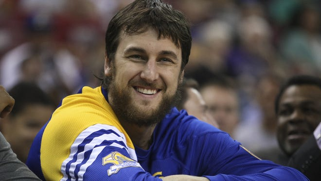 Warriors center Andrew Bogut is recovering from April ankle surgery and will miss the next week or so.