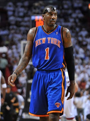 Knicks forward Amar'e Stoudemire needed surgery on his knee and is not expected back until Christmastime.