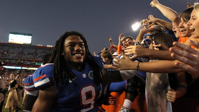 Defensive back Josh Evans and the rest of the Florida Gators have given their fans plenty to be happy about this season.