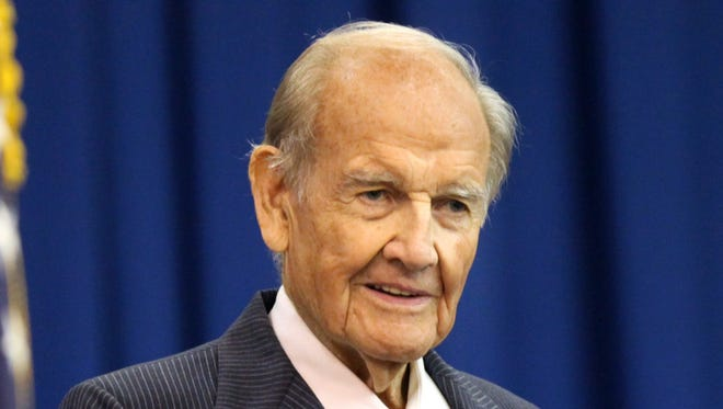 Former senator George McGovern died Oct. 21. He was 90.