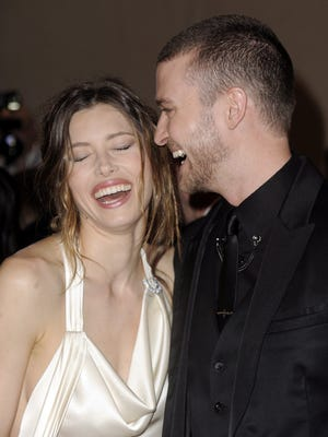 The happy couple in 2010.