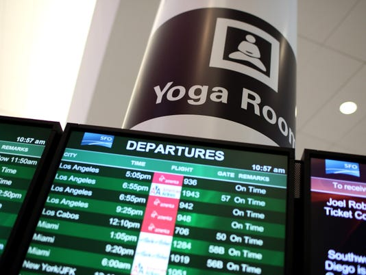 san francisco airport yoga 2