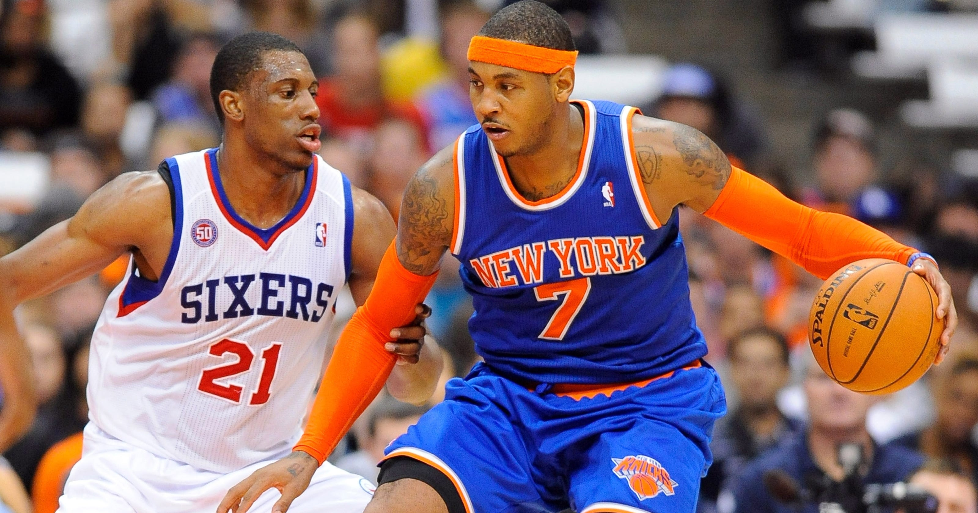 c7da743d3bb Carmelo Anthony at power forward makes perfect sense for Knicks