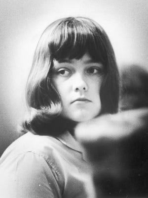 Paula Baniszewski appears in court on May 20, 1966 in Indianapolis, during the trial for the torture death of Sylvia Likens.