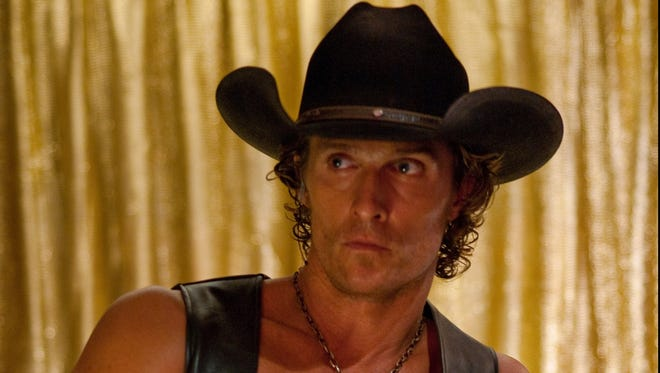 Matthew McConaughey stars as male stripper Dallas in 'Magic Mike.'