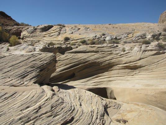 Hopi Blue Canyon landscape