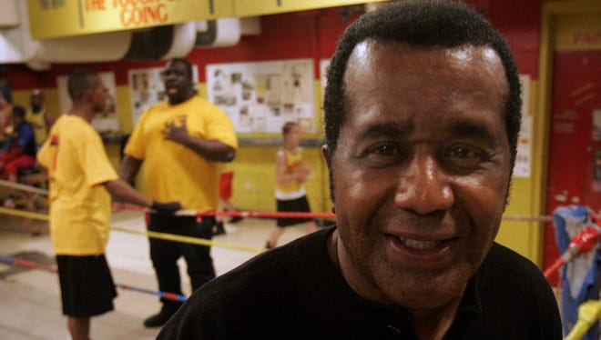 Emanuel Steward pictured at the Kronk Recreation Center in 2005.