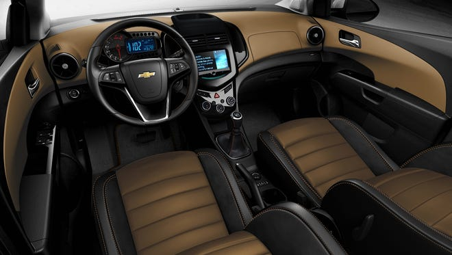 Chevrolet Sonic Dusk sedan, will start production and be available in 2014.
