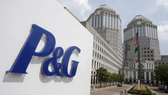 Procter & Gamble headquarters in Cincinnati. File.