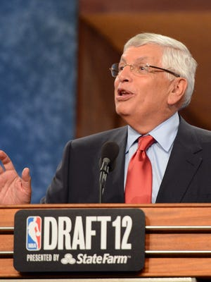 NBA Commissioner David Stern will step down during the 2013-14 season.